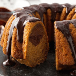 Pumpkin Chocolate Swirl Cake