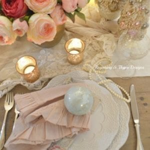 A Soft Tone Christmas Tablescape