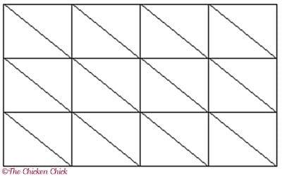 Baklava-cutting-template
