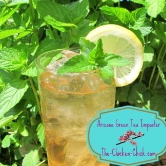Arizona green tea imposter