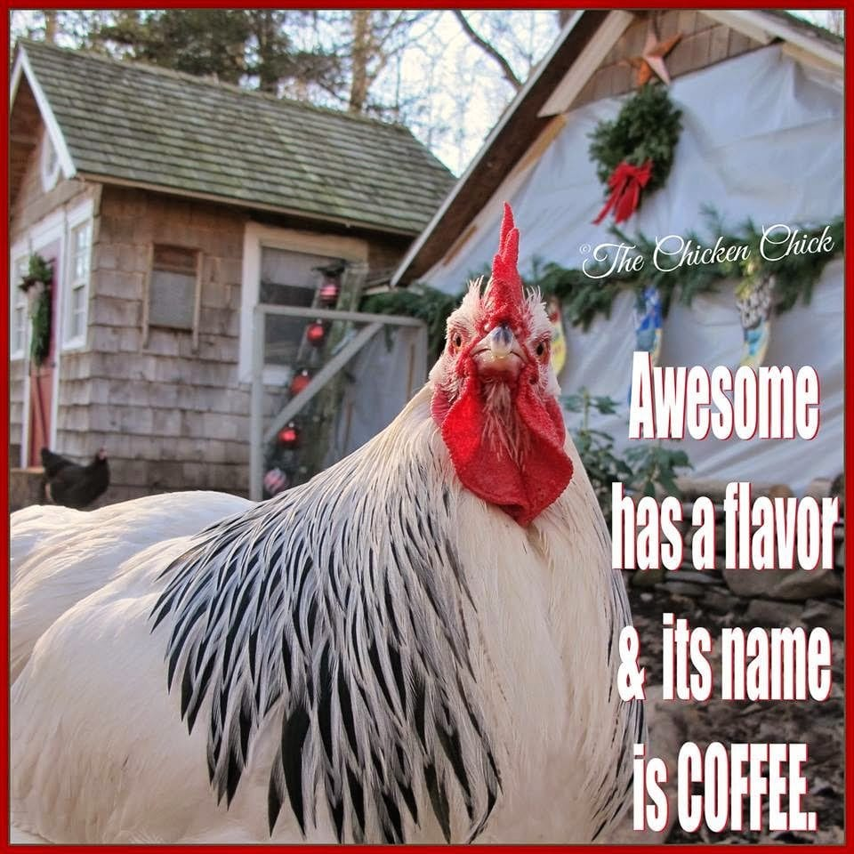 Awesome has a flavor and its name is coffee