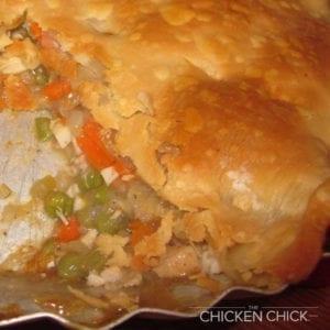 chicken pot pie - the chicken chick