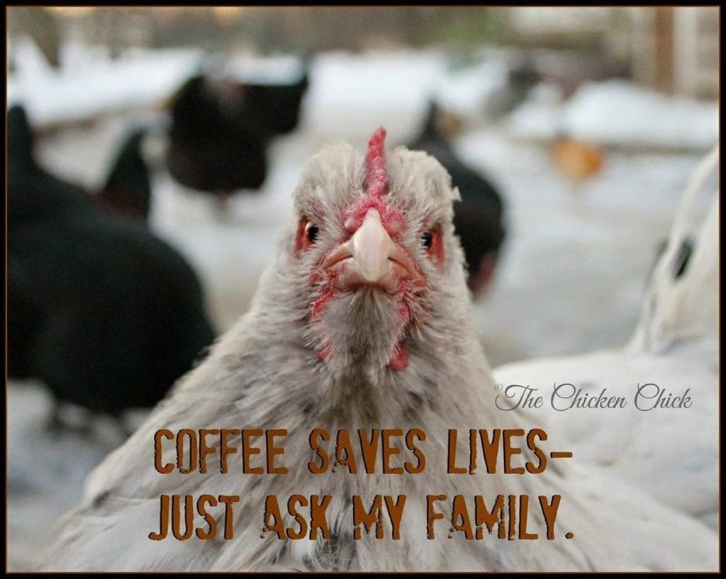 Coffee saves lives just ask my family