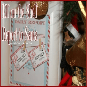Elf on the Shelf Naughty or Nice Report Cards to Santa with FREE PRINTABLES!