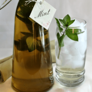 Fresh Mint Simple Syrup, shared by True Aim Education