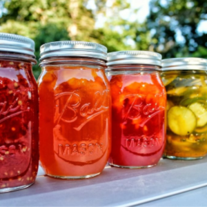 Glorious Canning Colors, shared by Getting Closer