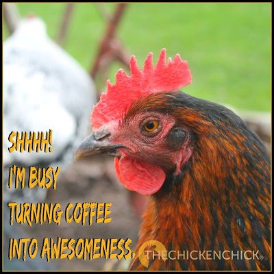 I'm busy turning coffee into awesomeness