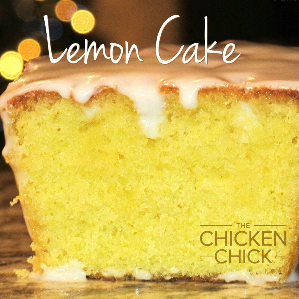 Lemon Cake via The Chicken Chick