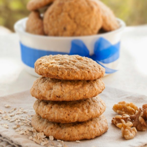 Oatmeal Walnut Cookies, shared by Titi Crafty