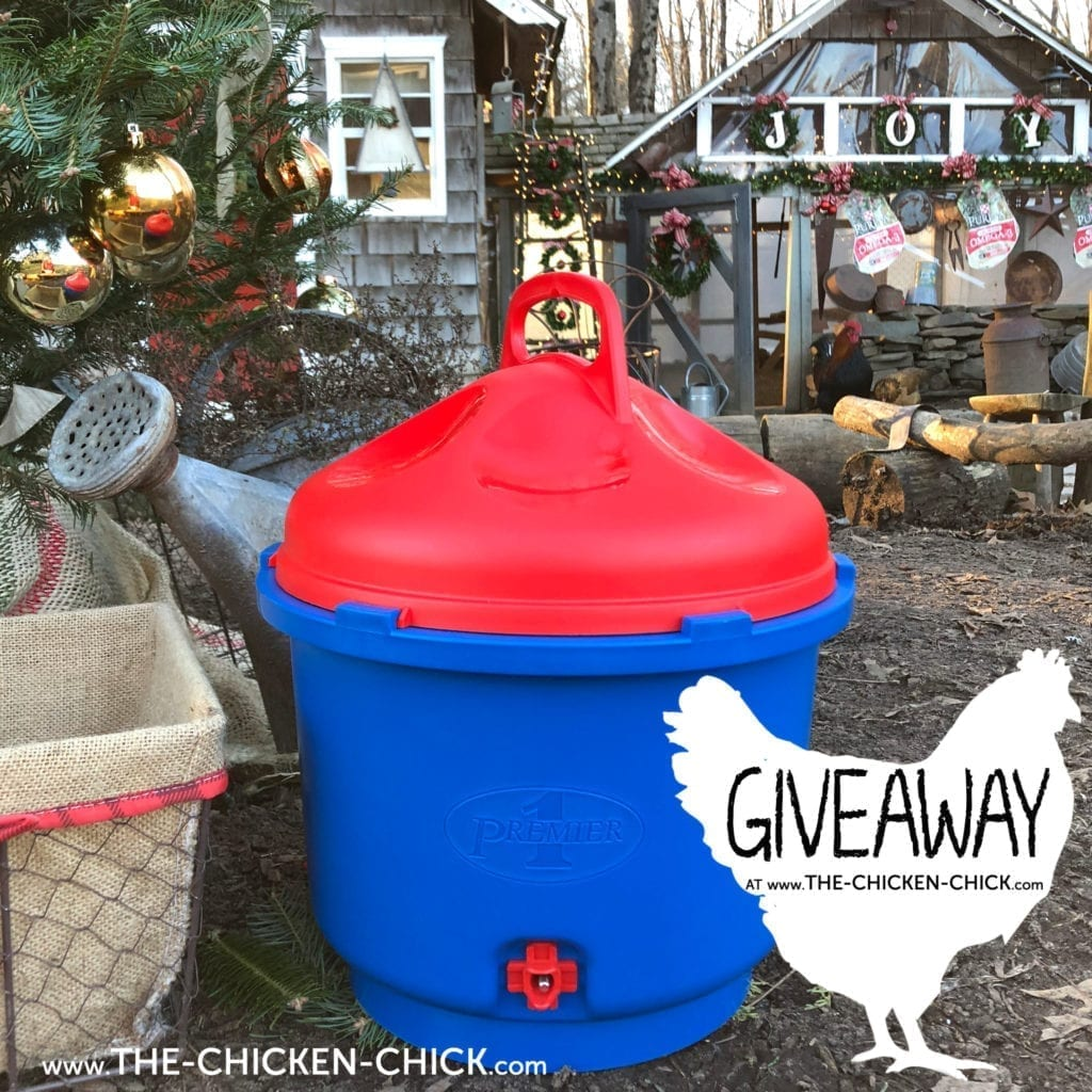 Premier 1 Heated Poultry Nipple Drinker Giveaway - The Chicken Chick