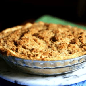 Streusel-Topped Apple Pie, shared by Oh Mrs. Tucker