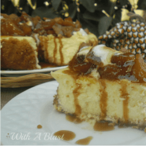 Toffee Apple Cheesecake, shared by With a Blast