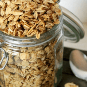Vanilla Almond Granola Cereal, shared by Natural Chow