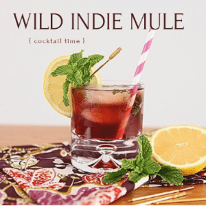 Wild Indie Mule Cocktail, shared by House of Hipsters