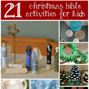 21 Christmas Bible Activities for Kids, shared by Christianity Cove