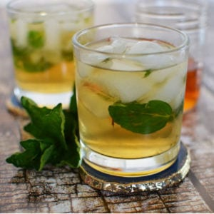 A Twist on the Classic Mint Julep – A Cocktail Recipe shared by Simply Darrling