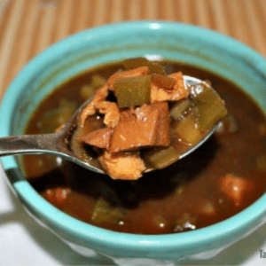 An Easy, Healthier Cajun Gumbo, shared by Tabler Party of Two