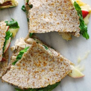 Apple, Chicken Brie Quesadilla, shared by Living La Vida Holoka