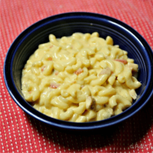 BBQ Chicken Mac & Cheese, shared by Oh Mrs. Tucker