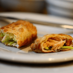 Buffalo Chicken Rolls, shared by Living on Grace
