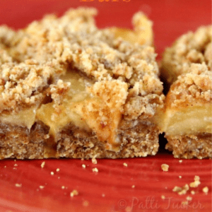 Caramel Apple Bars, shared by Oh Mrs. Tucker