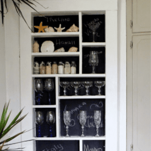 Chalkboard Hidden Door/Shelving, shared bySweet Southern Blue