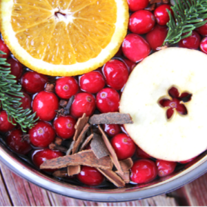 Christmas Stovetop Potpourri, shared by A Pretty Life