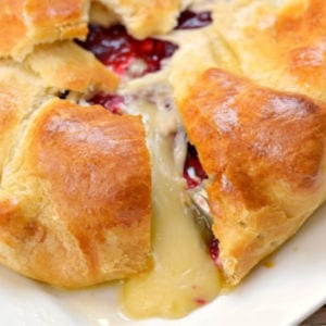 Cranberry Baked Brie, shared by Growing Up Gabel