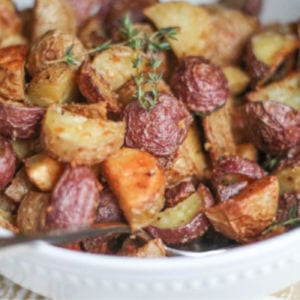 Crispy Parmesan Roasted Potatoes, shared by The Kittchen