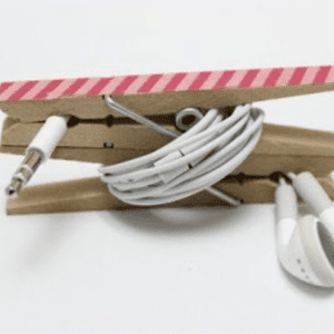 DIY Cord Keeper, shared by The Pin Junkie