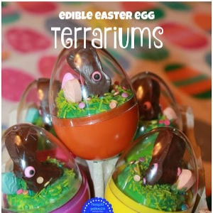 DIY Edible Easter Terrariums shared by Hoopla Palooza