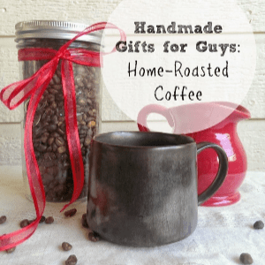 DIY Home Roasted Coffee, shared by Busy Being Jennifer