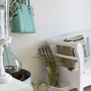 DIY Planked Wall, shared by Clean & Scentsible