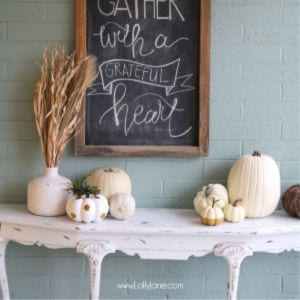 Easy Autumn Porch Ideas, shared by Lolly Jane