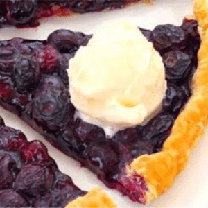 Easy Blueberry Tart, shared by Home Cooking Recipe Box