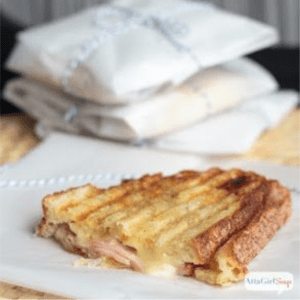 Fig, Ham & Brie Panini Sandwiches, shared by Atta Girl Says