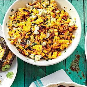 Grilled Mexican Corn Salad shared by Poinsettia Drive