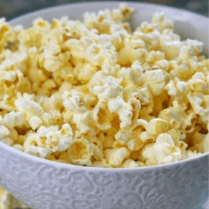 Homemade Kettle Corn, shared by Little House Living