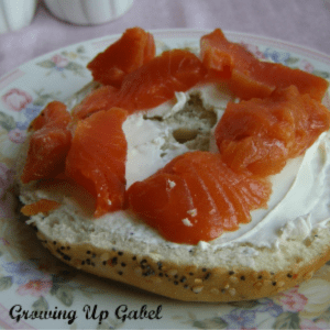 Homemade Lox, shared by Growing up Gabel