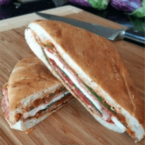 Italian Pressed Sandwich, shared by A Kitchen Hoor's Adventures