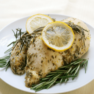 Lemon Rosemary Chicken, shared by Strength & Sunshine