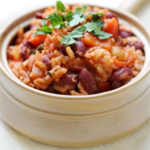 Louisiana Red Beans & Rice, shared by Strength & Sunshine