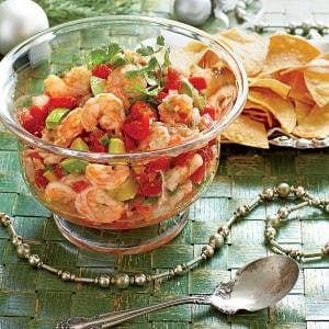 Mexican Shrimp Cocktail Dip, shared by Home Cooking Recipes