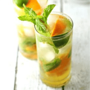Orange Mojitos, shared by Honey and Birch