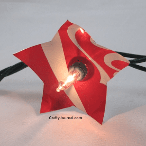 Patriotic Soda Can Lights, shared by Crafty Journal