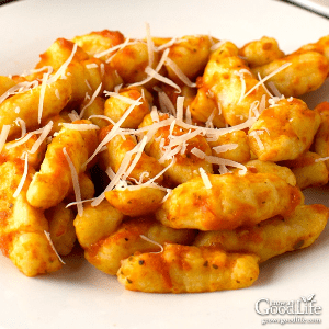 Ricotta Gnocchi, shared by Grow a Good Life