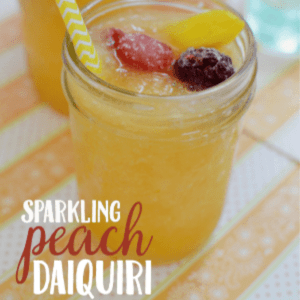 Sparkling Peach Daiquiris, shared by Krystal's Kitsch