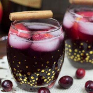 Spiced Cranberry Sangria, shared by Pink Heels, Pink Truck