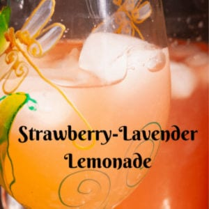 Strawberry Lavender Lemonade shared by Lazy Gastronome