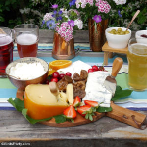 Summer Beer & Cheese Tasting Party shared by Bird's Party
